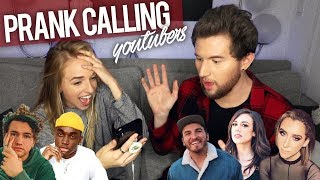 PRANK CALLING YOUTUBERS BUT WE CAN