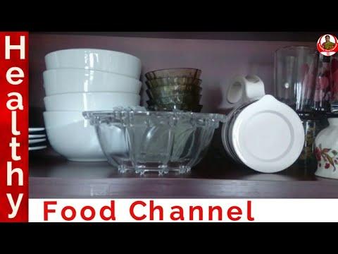 Glass and Ceramic Items Organization | Kitchen cabinet Organization in tamil | kitchen organization