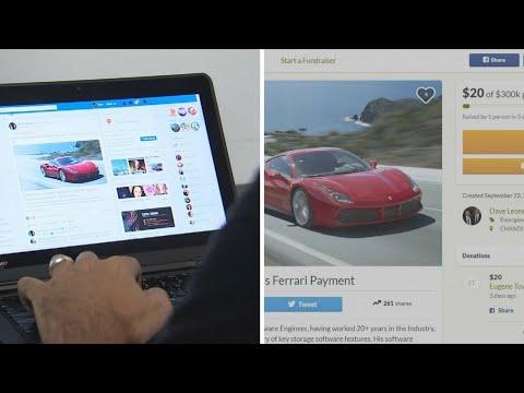 GoFundMe site made to raise money for new Ferrari