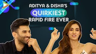 TRY NOT TO LAUGH: Disha-Aditya's CRAZIEST Rapid Fire on Tiger, Hrithik, Priyanka, Tinder | Malang