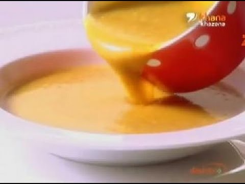Roasted Onion Garlic & Pumpkin Soup - Sanjeev Kapoor - Quick Chef