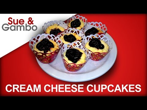How to Make Blueberry Cream Cheese Cupcakes