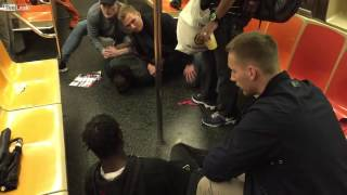 Swedish cops makes arrest in New York City subway