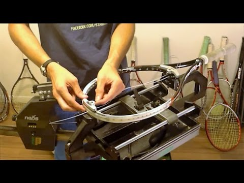 How to String a Head Speed Tennis Racquet