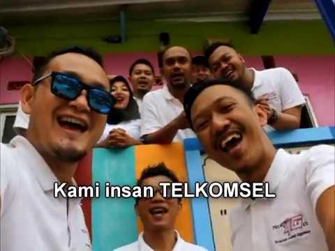 Mars Telkomsel + LIRIK - Cover by MoGi (Mobile Grapari) & MoRe (Motor Recharge) Malang