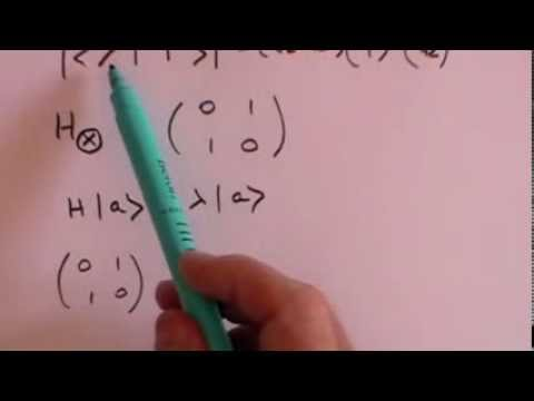 Quantum Mechanics Concepts: 1 Dirac Notation and Photon Polarisation