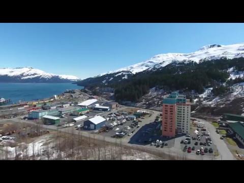 Whittier Alaska in 4K, 5/11/17