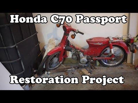 Intro to my Honda C70 Passport projects