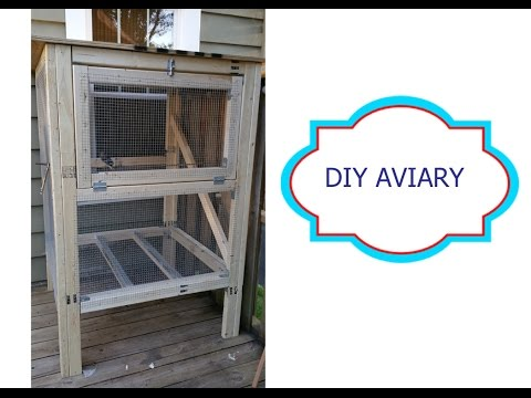 DIY Aviary for your deck