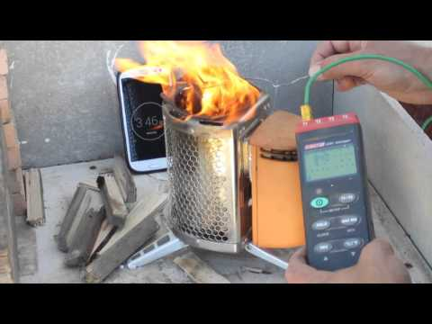 Coffee Cooking & Temperature Test on BioLite Camp Stove