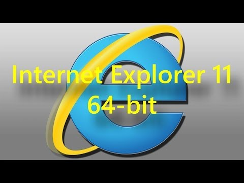 Internet Explorer 11 64 bit on Windows 8