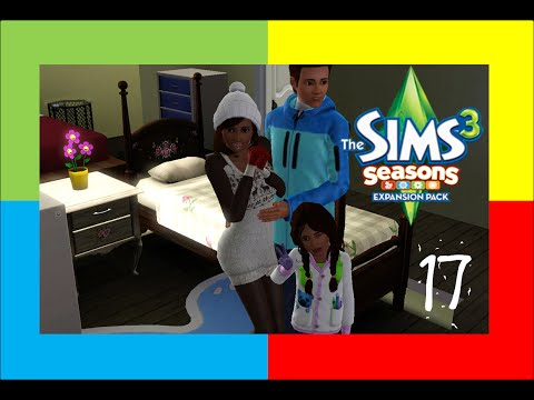 Let's Play The Sims 3 Seasons Part 17: Bae The Snowman!