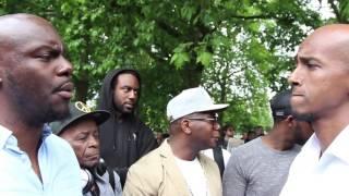 Fight Breaks Out Over Satan | SA RA vs Muslims | Speakers Corner