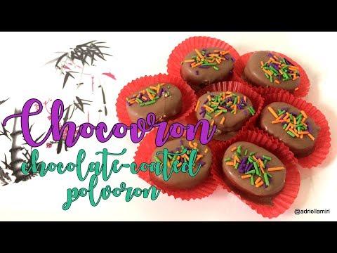 How To Make Chocovron (Chocolate-coated Polvoron)