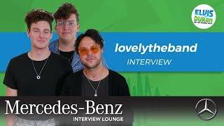 lovelytheband on Importance of Mental Health Talk | Elvis Duran Show
