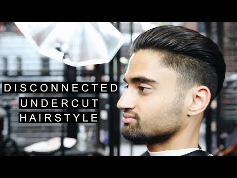 Disconnected Undercut | Cool Hairstyle 2017 | Thick Indian Hair For Men | Fade