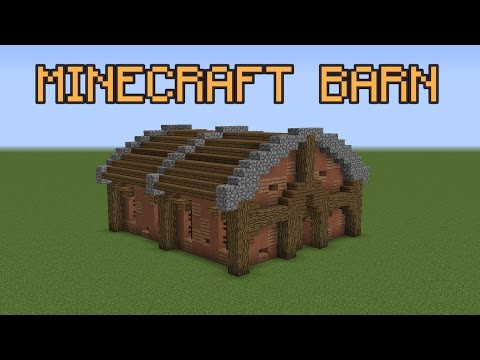 Minecraft Rustic Barn Tutorial!
