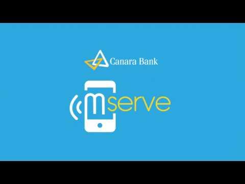 Canara Bank Mserve application