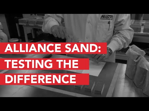 Test the difference with the Alliance polymeric sands
