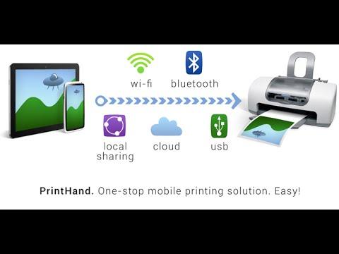 Android print via Bluetooth