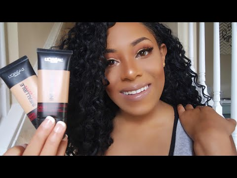 Foundation Review & Demo: L'Oreal Infallible Pro Matte Foundation | WOC Friendly