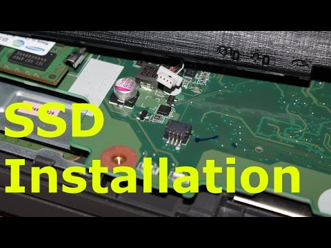 Acer E5 573G 52G3 SSD Installation