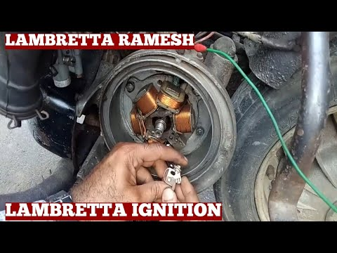 How To Troubleshoot Ignition System Lambretta Scooter-Contact Point Ignition System Problems solving