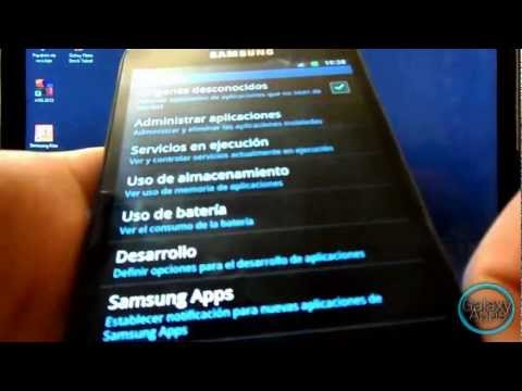 [How To] CWM para Galaxy Note (N7000): Tercer Paso (Español Mx)