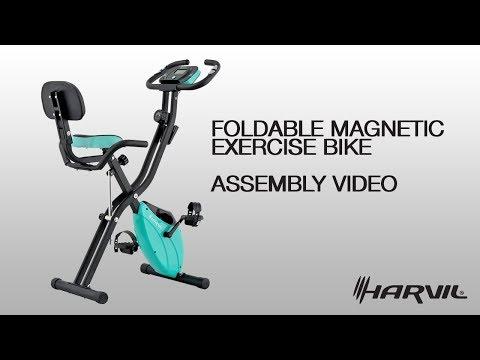 Assembly Video | Harvil Foldable Magnetic Exercise Bike | Exercise Bike | Dazadi.com