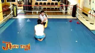 Gina Carano training with Master Toddy