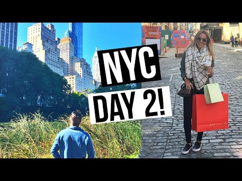 LOST on the Subway | NYC VLOG | ALEX AND MICHAEL