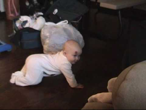 How to keep a baby busy by remote control