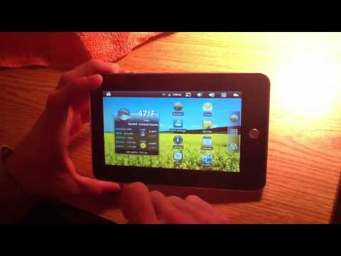 Android Tablet 2.3 Demo