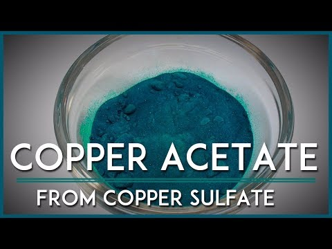 Make Copper Acetate at Home!