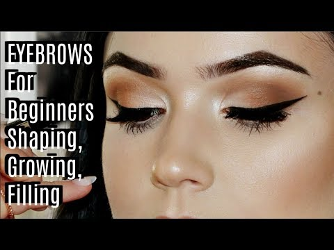 Beginner Eye Brow Tutorial | AND EVERYTHING ELSE YOU NEED TO KNOW ABOUT BROWS!