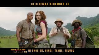 Live The Adventure   Telugu   Jumanji Movie   In Cinemas Dec 29