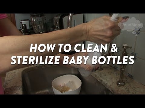 How to Clean and Sterilize Baby Bottles | CloudMom