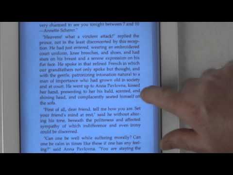 iPad2 Reading