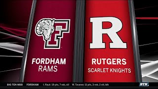 Fordham at Rutgers - Men