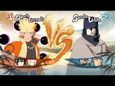 Naruto Shippuden: Ultimate Ninja Storm 4 - Sage Six Paths Naruto vs Sasuke Last Movie