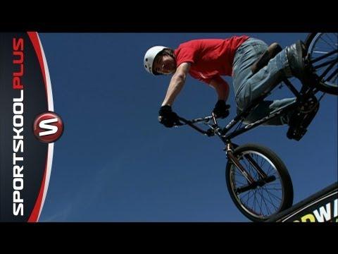 BMX Legend Jay Miron teaches Spine Jumps