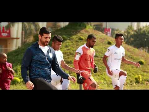 ISL - Making of Jio Football TVC