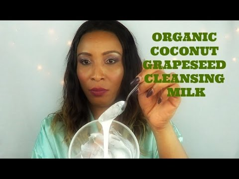 How To Make The Best Natural Cleansing Milk | Get Cleaner Brighter Skin | Demo | Khichi Beauty