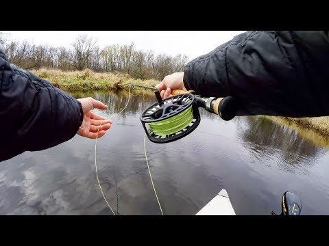Fishing COLD Rivers for FAT Pike