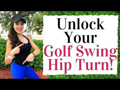 Stretches To Unlock Your Hip Turn - Golf Fitness Tips
