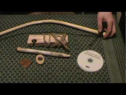 Beginners Bow Drill Fire Starter Kit