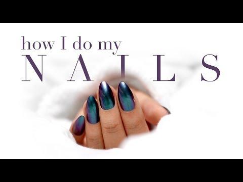 Easy DIY Nails At Home · How I Apply and Remove Fake Nails