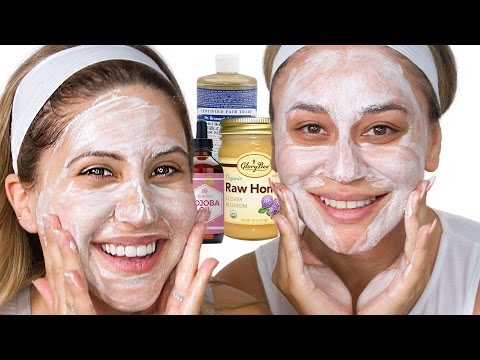 How To Make Honey Face Wash - Smells Good & Leaves Your Face Clean!