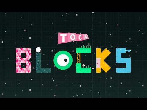 LittleLizard Plays - Toca Blocks with LittleKelly's world.