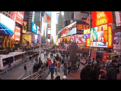 NEW YORK CITY VLOG #1 | TIMES SQUARE VE CENTRAL PARK'I GEZDİK